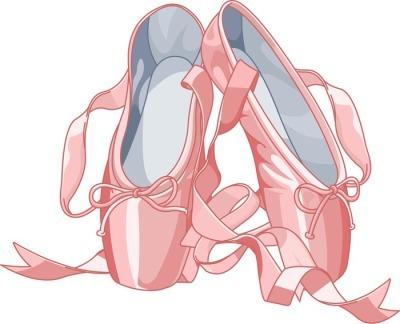 Decalque de Parede Ballet slippers
