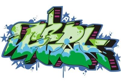 Wandtattoo Graffiti Pixers Wir Leben Um Zu Verandern