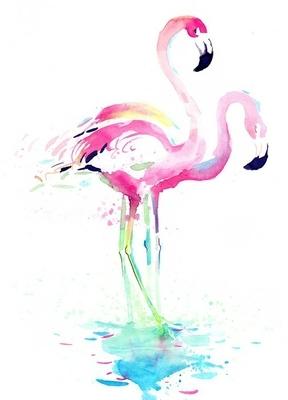 Badezimmer wandtattoo pixers wir leben um zu ver ndern - Flamingo wandtattoo ...
