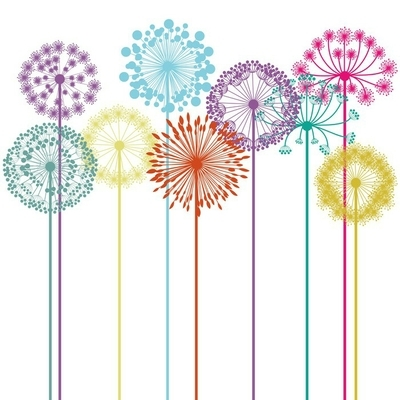 flowers design Wall Decal