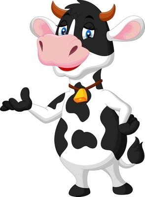 Lehmä Piirretty