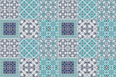 Kaakelitarra Mosaiikki - tarroja laatat