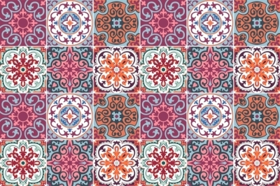 Nálepka na obkládačky Mozaika - nálepky na dlaždice