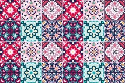 Fliseklistremerke Mosaikk - klistremerker på flisene