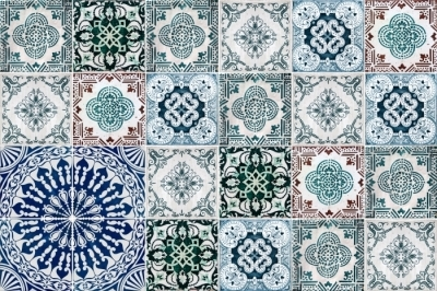 Tile sticker Mosaic - stickers on the tiles