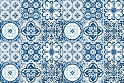 Klistemærke til fliser Mosaic - klistermærker på fliserne