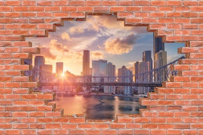 Fotomural Estándar Agujero en la pared - Brisbane. - Agujeros en la pared