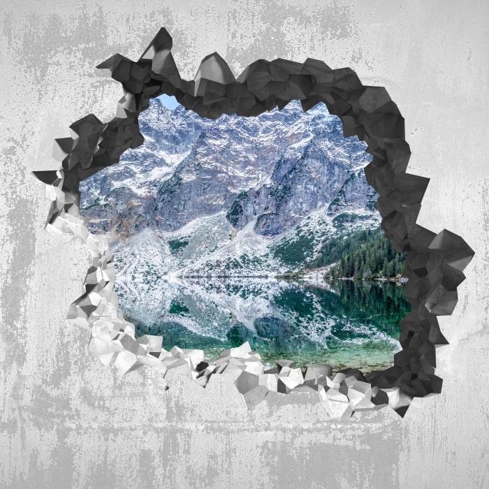Sticker Pixerstick Trou dans le mur - Sea Eye - Les trous dans le mur