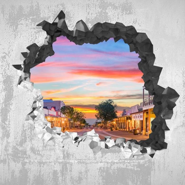 Vinyl Fotobehang Gat in de muur - Arizona - Gaten in de muur
