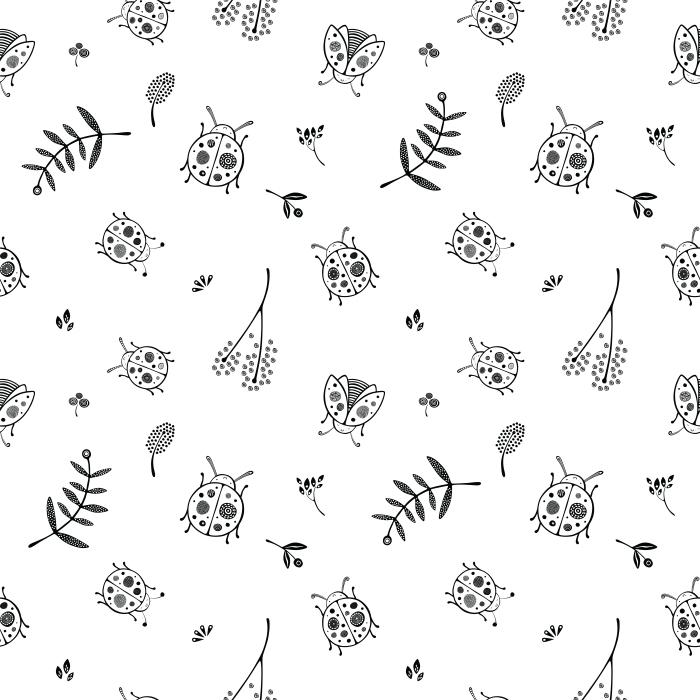Ladybugs pattern - Kubem Studio Poster - Contemporary artists