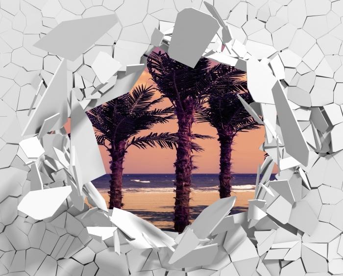 Reikä seinään - Palma Vinyyli valokuvatapetti - Reikää seinään