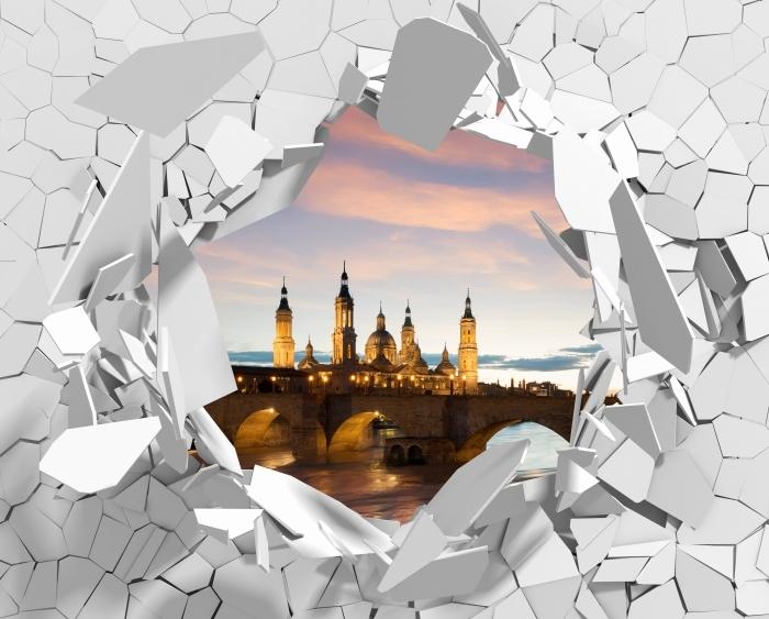 Papier peint vinyle Trou dans le mur - cathédrale. Espagne. - Les trous dans le mur