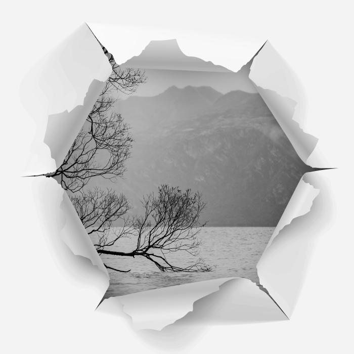 Reikä seinään - Landscape. uusi-Seelanti Vinyyli valokuvatapetti - Reikää seinään