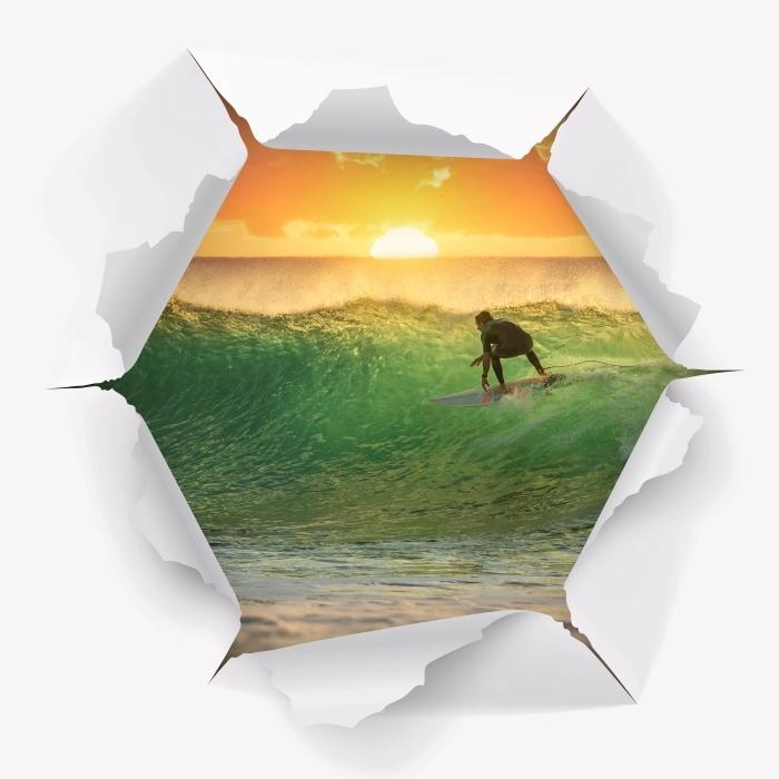 Papier peint vinyle Trou dans le mur - Surf - Les trous dans le mur