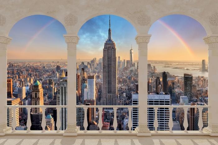 Fototapeta winylowa Taras - Nowy Jork - Tarasy