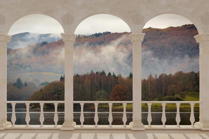 Fototapeta winylowa Taras - Lake District - Tarasy