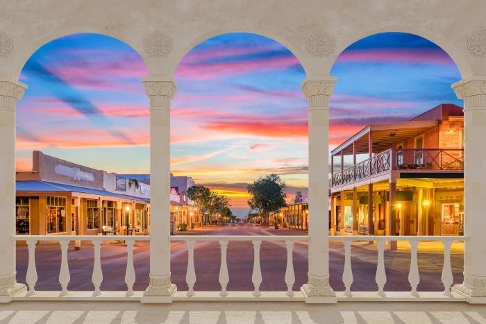 Fototapeta winylowa Taras - Arizona - Tarasy