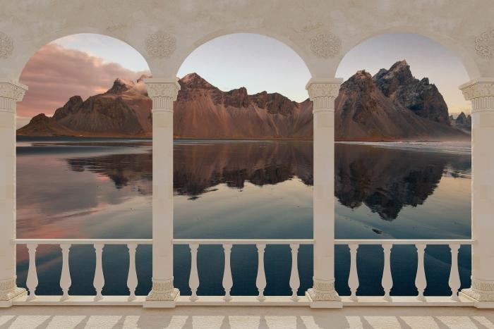 Fototapeta winylowa Taras - Wyspa - Tarasy