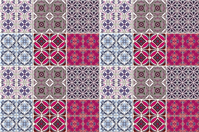 Mosaic - stickers on the tiles Pixerstick Sticker - Kafelki