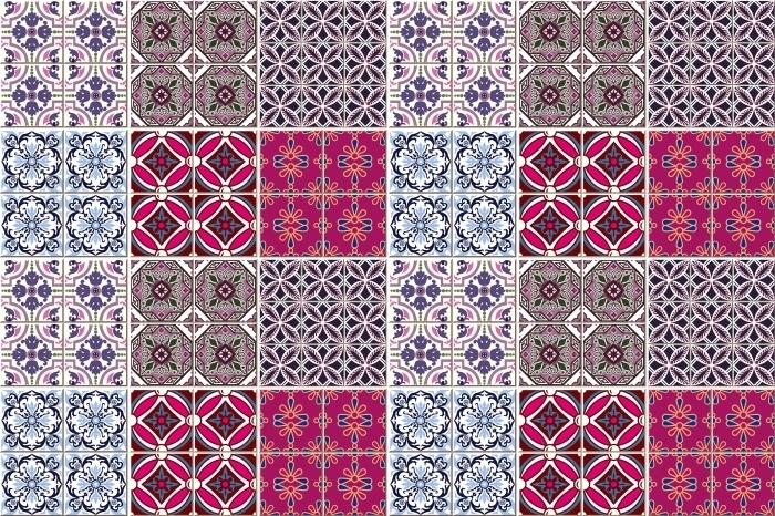 Mosaiikki - tarroja laatat Pixerstick tarra -