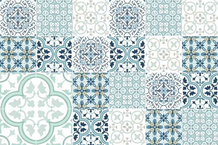 Tile sticker Mosaic - stickers on the tiles - Mosaic - Tile