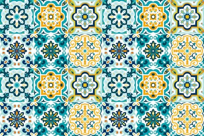 Kakeldekor Mosaic - klistermärken på plattorna - Mosaik