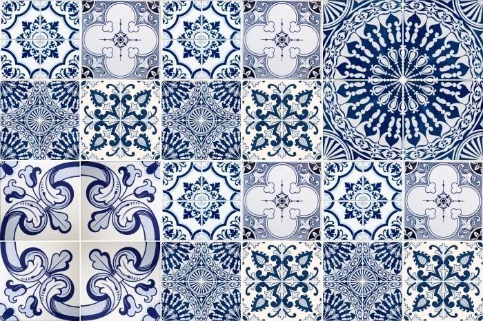 Kaakelitarra Mosaiikki - tarroja laatat - Mosaiikki