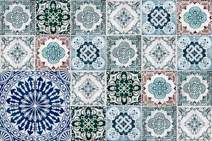Fliesenaufkleber Mosaic - Aufkleber auf den Fliesen - Mosaik