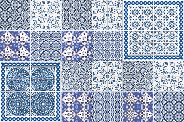 Fayans çıkartması Mozaik - fayans üzerine çıkartmalar - Mozaik
