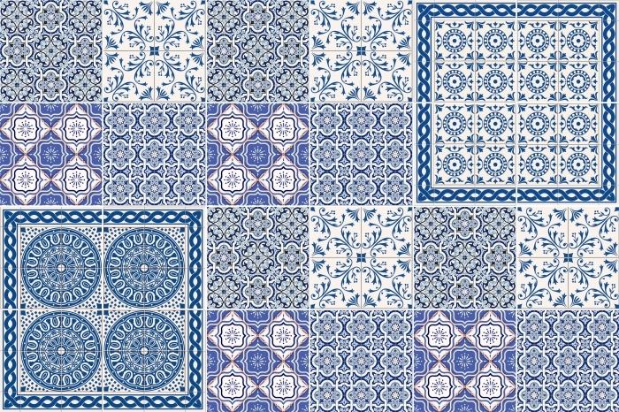Tegelsticker Mosaic - stickers op de tegels - Mozaïek