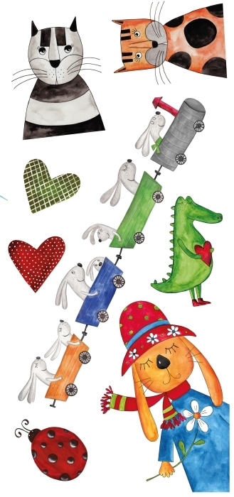 Animaux du voyage Paquet de stickers - PAQUETS DE STICKERS