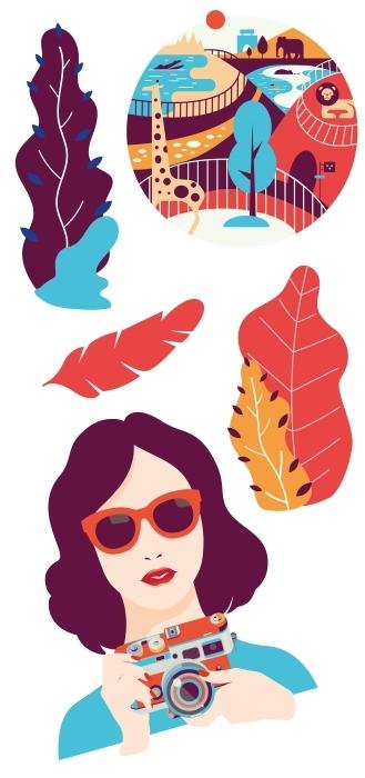 Art Sticker set - Sticker sets