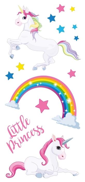 unicornios del arco iris Set de vinilos - SETS DE VINILOS