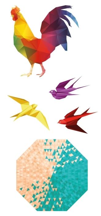art poly Paquet de stickers - PAQUETS DE STICKERS