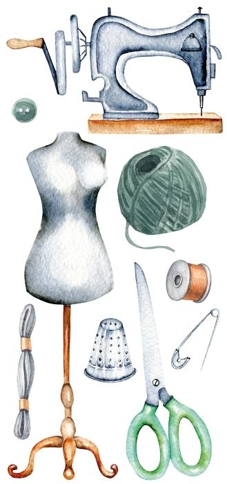 Équipement de couture Paquet de stickers - PAQUETS DE STICKERS