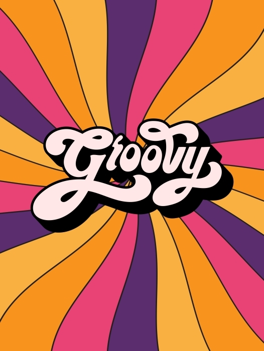 Naklejka Pixerstick Groovy - Motywacyjne