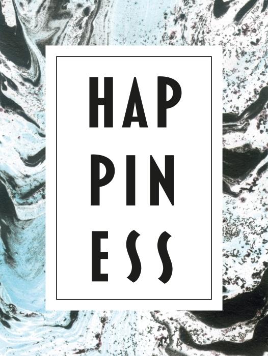 Sticker Pixerstick Happiness -