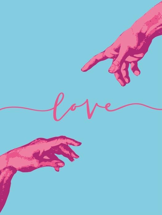 Loving hand Vinyl Wall Mural - Motivations