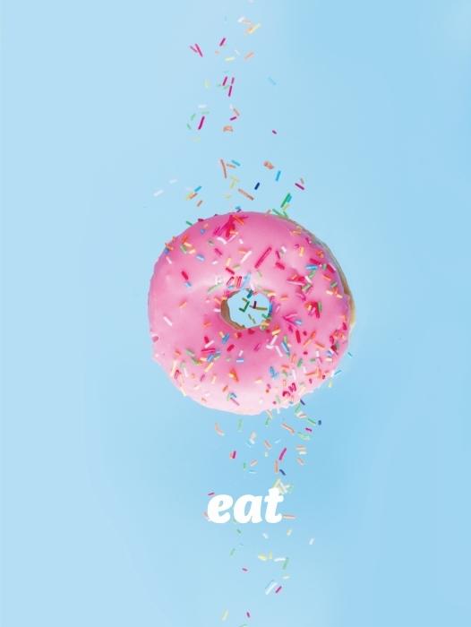 Eat Pixerstick Sticker - Motivations