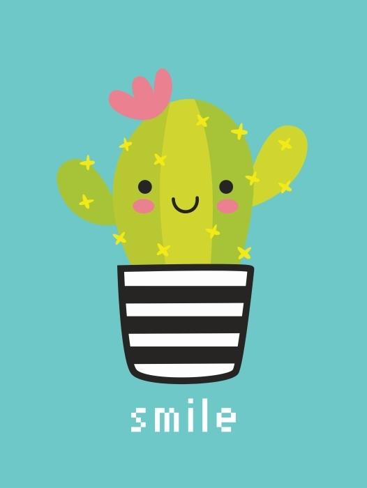 Sticker Pixerstick Smile -