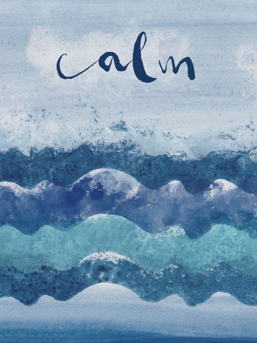 Sticker Pixerstick Calm. -