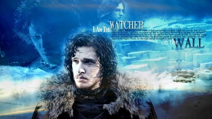 Papier peint vinyle Jon Snow - Thèmes