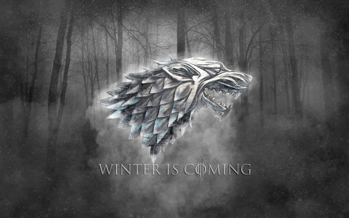Winter is coming Self-Adhesive Wall Mural - Themes