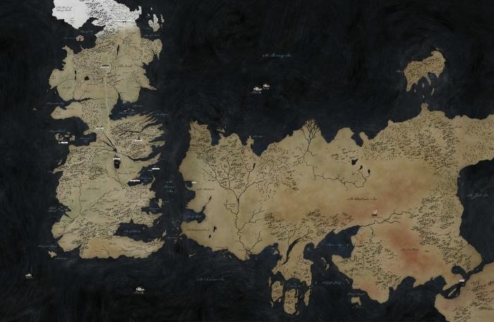 Papier peint vinyle Westeros - Thèmes
