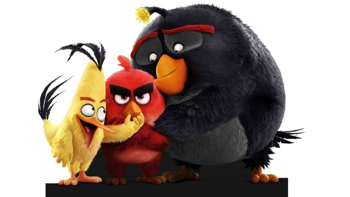 Angry Birds Pixerstick Sticker - Themes