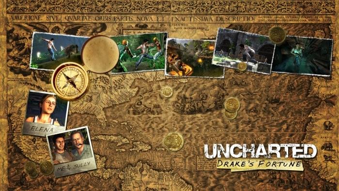 Naklejka Pixerstick Uncharted - Tematy