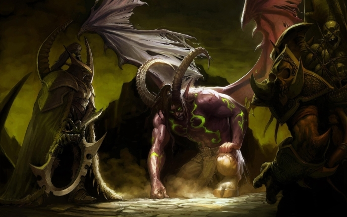 Vinyl Fotobehang World of Warcraft - Thema's