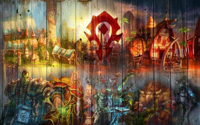 Pixerstick Sticker World of Warcraft - Thema's