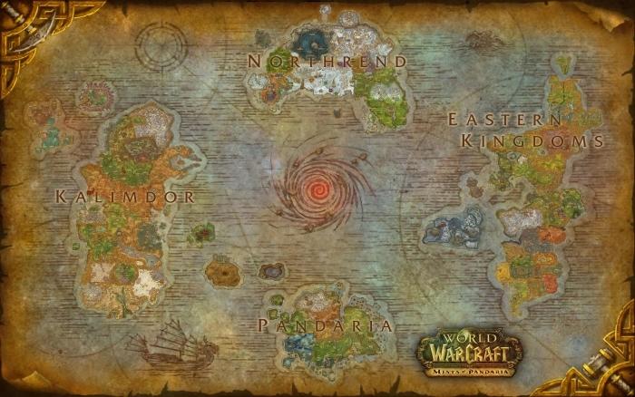 Fototapeta samoprzylepna World of Warcraft - Tematy