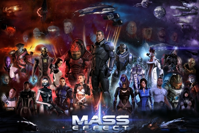 Naklejka Pixerstick Mass Effect - Tematy